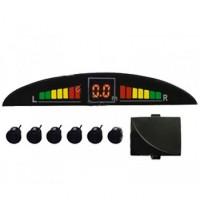 Парковочный радар RMPC5600-2 (6 датчиков, черный)